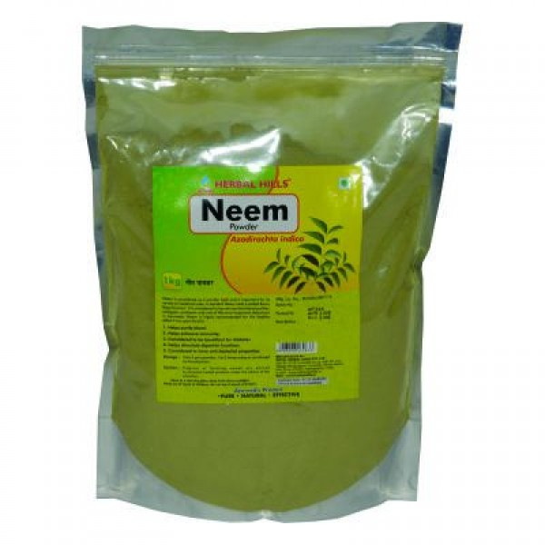 Neem Patra Powder 1kg Powder Pack of 2