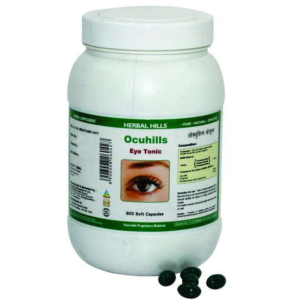 Herbal Hills Ocuhills Value Pack 900 Capsule