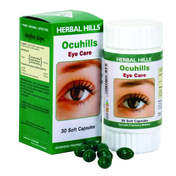 Herbal Hills Ocuhills 30 Capsule