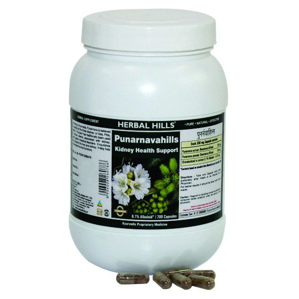 Herbal Hills Punarnavahills Value Pack 700 Capsule