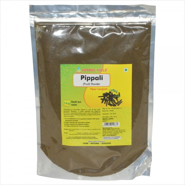 Herbal Hills Pippali Fruit Powder 1 Kg Powder