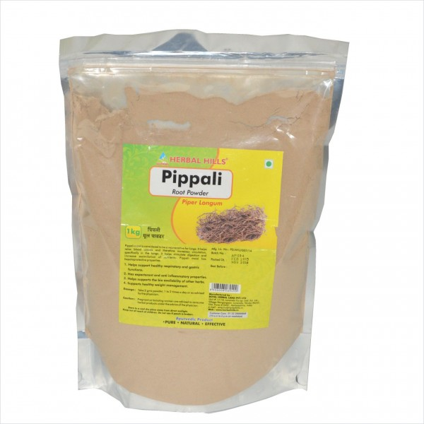 Herbal Hills Pippali Root Powder 1 Kg Powder