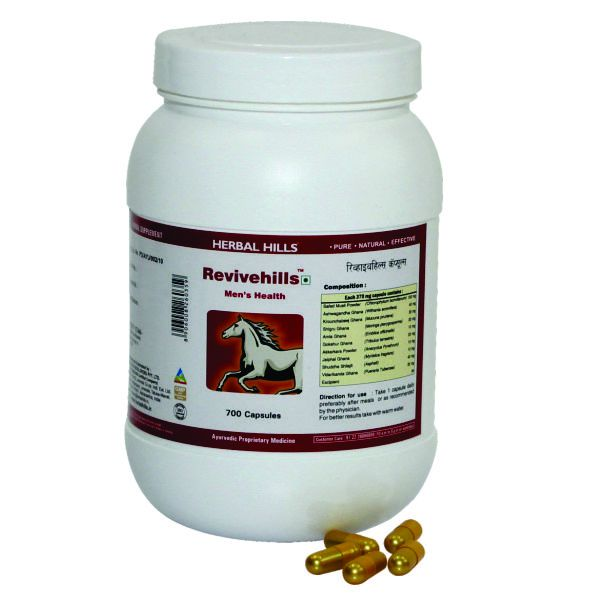 Herbal Hills Revivehills Value Pack 700 Capsule