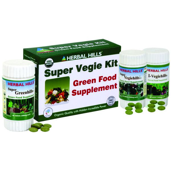 Herbal Hills Super Vegie Kit ( Super Greenhills, Super Vegiehills, I Vegiehills)