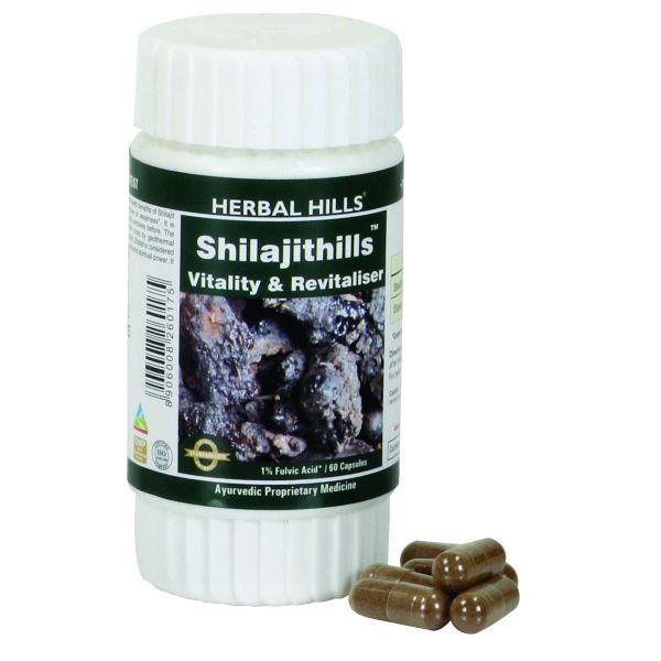 Herbal Hills Shilajithills 60 Capsule