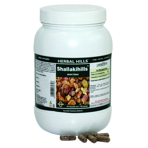 Herbal Hills Shallakihills Value Pack 700 Capsule