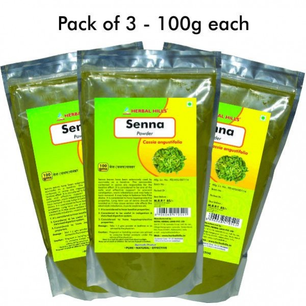 Herbal Hills Senna Powder 100 Gms Powder