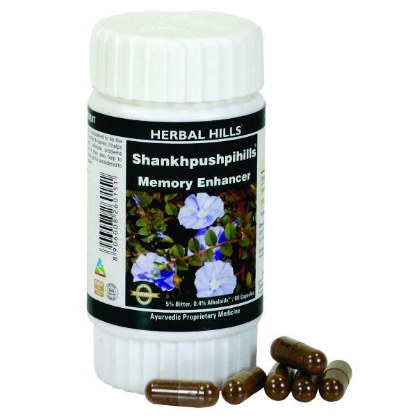 Herbal Hills Shankhpushpihills 60 Capsule