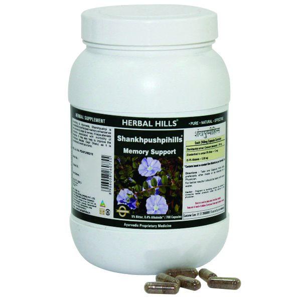 Herbal Hills Shankhpushpihills Value Pack 700 Caps
