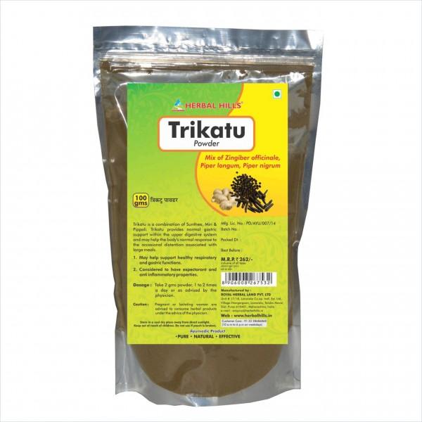 Herbal Hills Trikatu Powder 100 Gms Powder