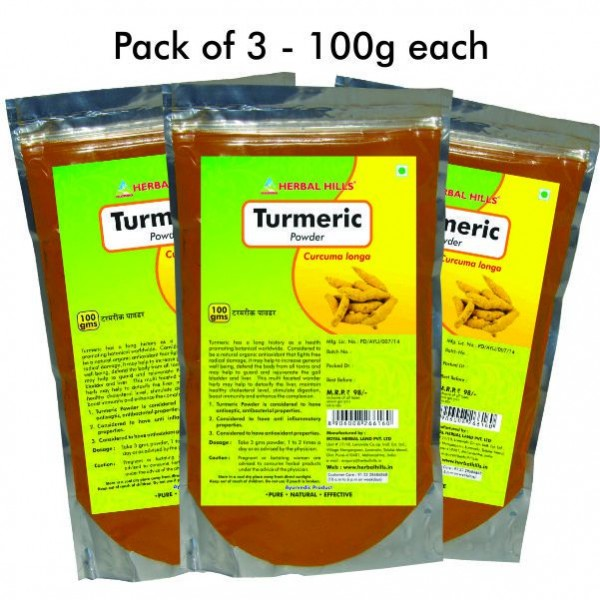 Herbal Hills Turmeric Powder 100 Gms Powder