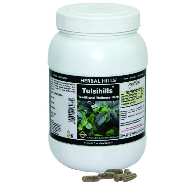 Herbal Hills Tulsihills Value Pack 700 Capsule