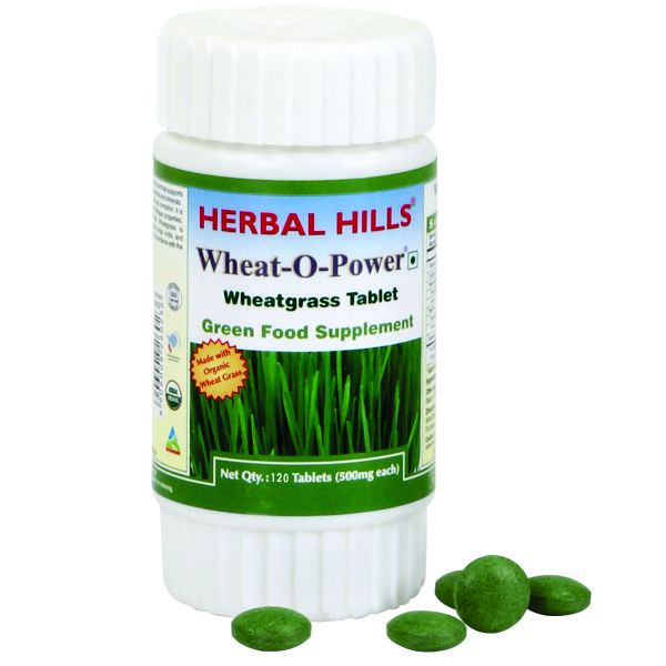 Herbal Hills WheatOPower 120 Tablet