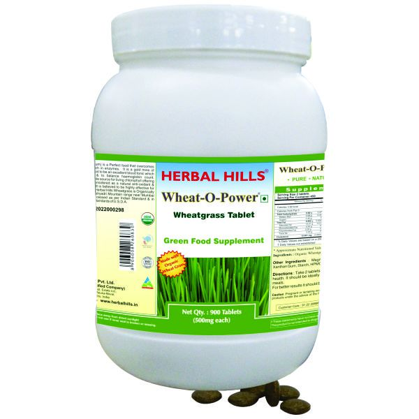 Herbal Hills Wheatgrass Value Pack 900 Tablets