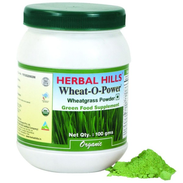 Herbal Hills WheatOPower 100 Gms Power