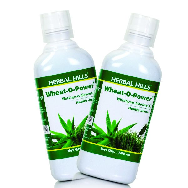 Herbal Hills WheatOPower(Aloe Wheatgrass Combo)