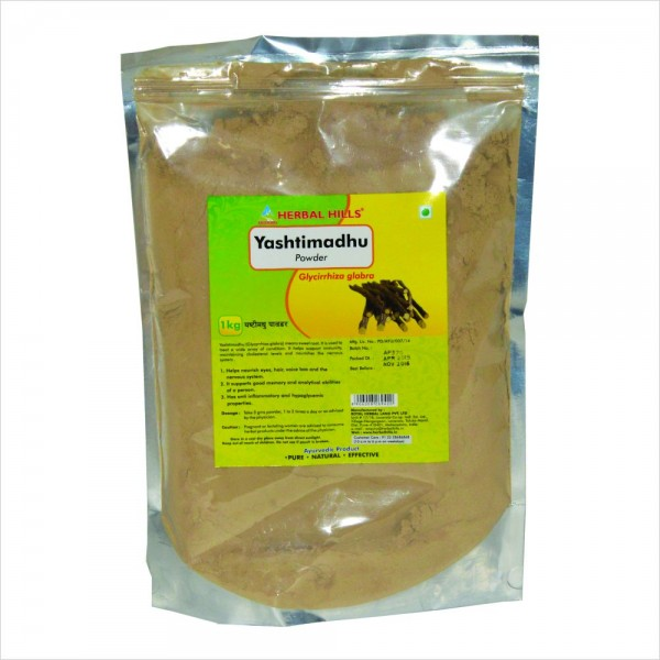 Herbal Hills Yashtimadhu Powder 1 Kg Powder