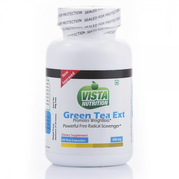 Vista Nutrition Green Tea Extract 400Mg-60 Capsules