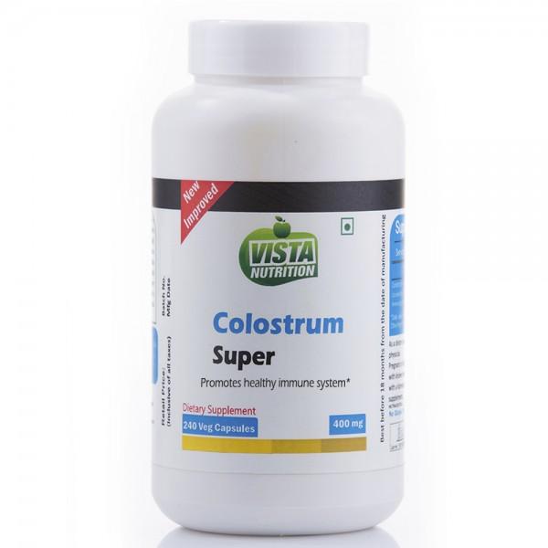Vista Nutrition Colostrum Super 400Mg 240 Capsules
