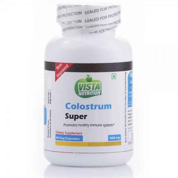 Vista Nutrition Colostrum Super 400Mg 60 Capsules