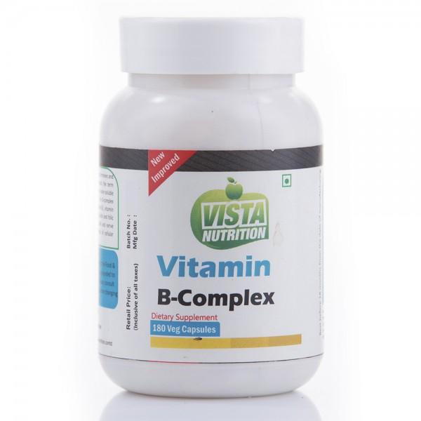 Vista Nutrition Vitamin B-Complex 180 Capsules