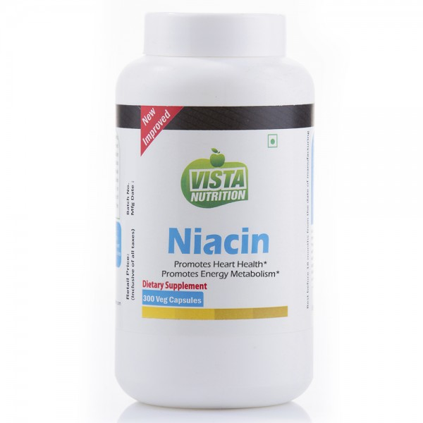 Vista Nutrition Niacin 300 Capsules