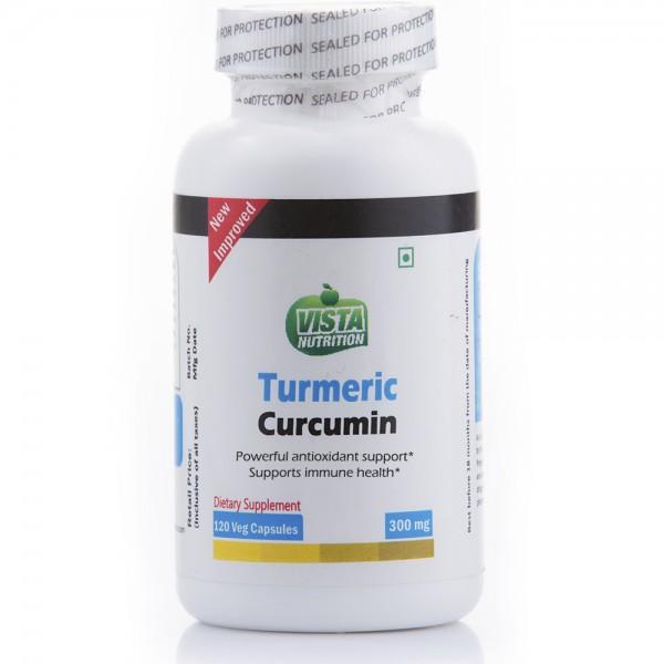 Vista Nutrition Turmeric Curcumin Ext 300Mg-120 Capsules