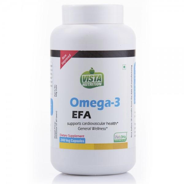 Vista Nutrition Omega-3 Efa-240 Capsules