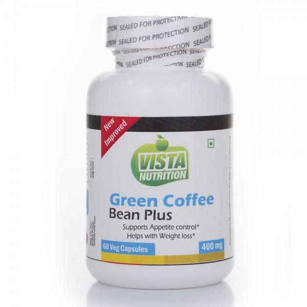 Vista Nutrition Green Coffee Bean Plus 400Mg-60 Capsules
