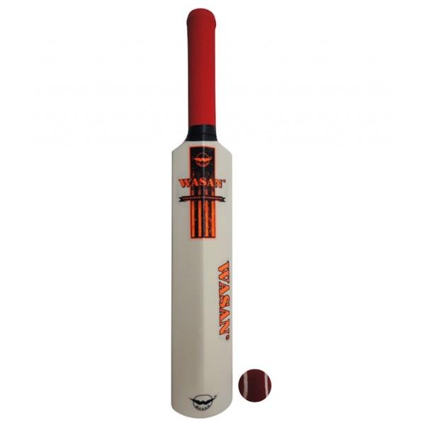 Wasan Midi Bat and Ball Cricket Kit - Orange