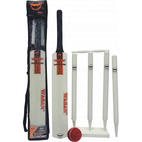 Wasan Cricket Set Size 3 - Orange Cricket Kit