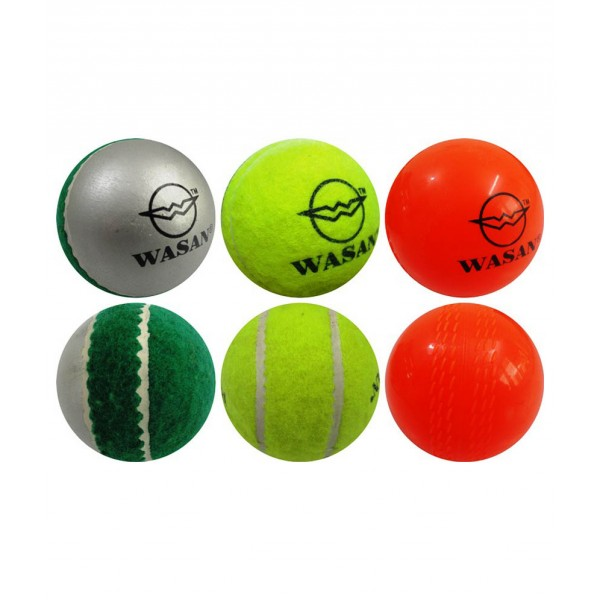 Wasan All Rounder Cricket Ball (Pack of 3)