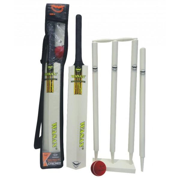 Wasan Cricket Set Size 5 - Yellow Cricket Kit
