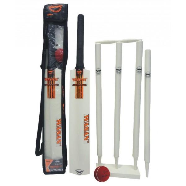 Wasan Cricket Set Size 5 - Orange Cricket Kit