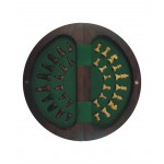 Chopra Chess Round Magnetic 9 Inch Chess Board