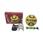 Wasan Football Pump & Shinguard Training Set