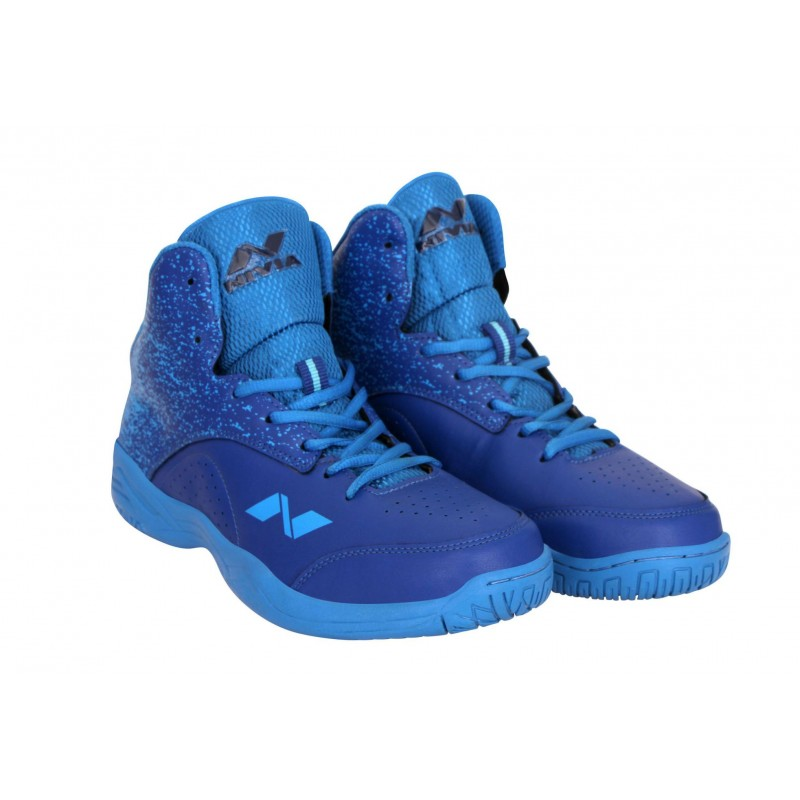 Buy Nivia Panther 1 Basketball Shoes 178BL (Blue) Online at Best ... 501023212