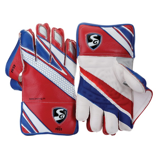 SG Test Cricket Wicket Keeping Gloves